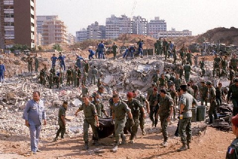 October, 1983: 241 U.S. Marines were blown up in an attempt to frame Iran and the new Hezbollah group.