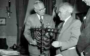 Ben Gurion Harry Truman