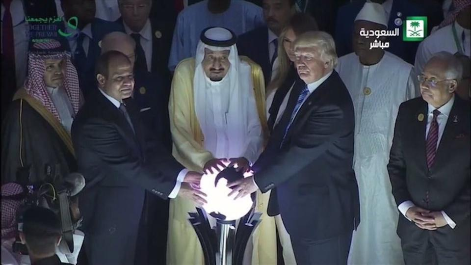 Glowing orb