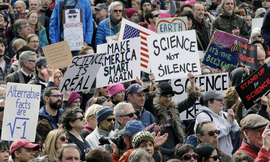 March promoting science