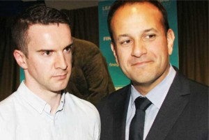 Leo-Varadkar (right) with civil 'partner'. Click to enlarge