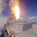 Russia fires Kalibr cruise missiles on Isis targets in Syria