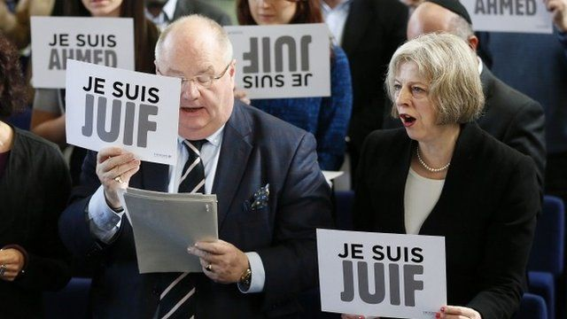 Theresa Je Suis Juif May and Sir. Eric Holocaust Envoy Pickles