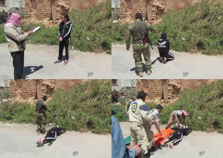 White Helmets execution. Click to enlarge