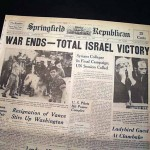 Israel provoked the Six-Day War in 1967, and it was not fighting for survival