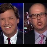 Tucker Carlson and Max Boot