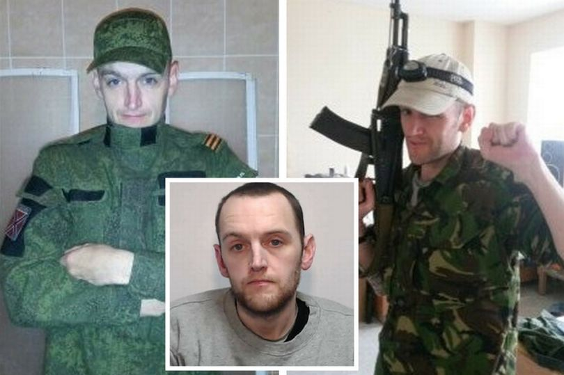 "Benjamin Stimson, convicted of ""terrorism"" for fighting for pro-Russian militia in Ukraine. Click to enlarge"