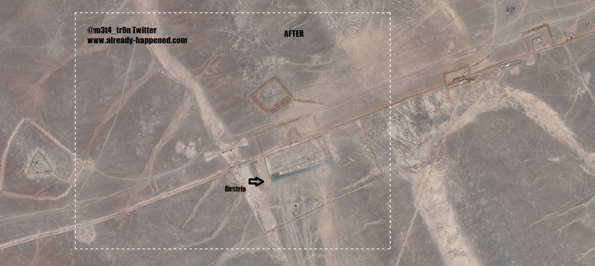 Satellites Have Detected A String Of Recently Built U S Bases Across The Middle East Apart