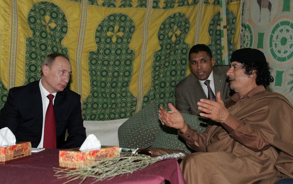 gaddafi and putin