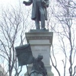 The statue in our nation's capitol of Confederate General Albert Pike, Grand Master of the Scottish Rite of Freemasonry Southern Jurisdiction — the most powerful masonic organization in the world in Pike's lifetime. Click to enlarge