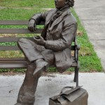 David Levy Yulee statue in Florida. Click to enlarge