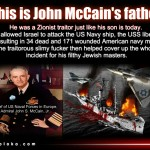 McCain Family Involvement In The USS Liberty Cover-up