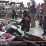 "Syria - Rebel Trained Children Perform ""Chemical Attack"" (Video)"