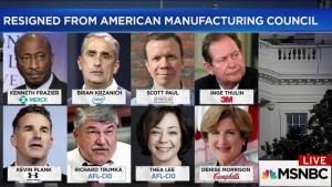 CEO's Who Quit Trump are Glorified Errand Boys