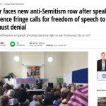 "Miko Peled at Fringe Labour Conference - ""holocaust Yes or No""?"