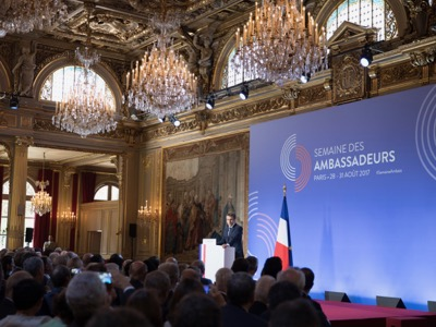 Macron speech to Ambassadors