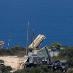 Patriot anti missile battery near Haifa. Click to enlarge