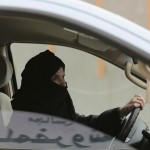 What was an act of defiance in March 2014 – when this photo of a woman driving in Riyadh was taken – will soon be legal. Click to enlarge