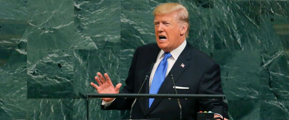 Trump UN speech sept 2017