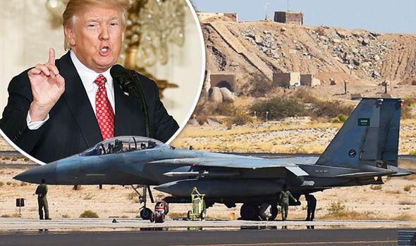 Trump grounds Saudi warplanes