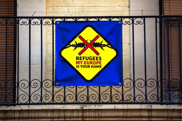 refugees welcome Tarragona-Spain-2017-600x400