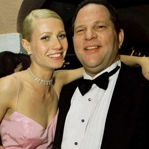 Weinstein with Gwyneth Paltrow. Click to enlarge