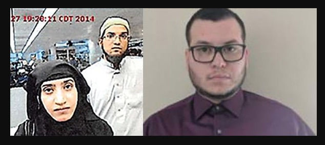 Jesus Compos (right)  San Bernadino terrorist (left). Click to enlarge