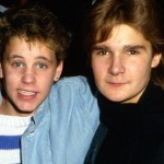 Feldman, right, with Corey Haim who died in 2010, at age 38 of drug overdose. Click to enlarge