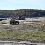 A remotely operated 4x4 being tested by the US and British armies in Michigan. Click to enlarge