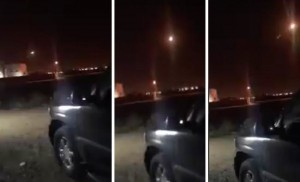 Houthis fire missile at Riyadh. Click to enlarge