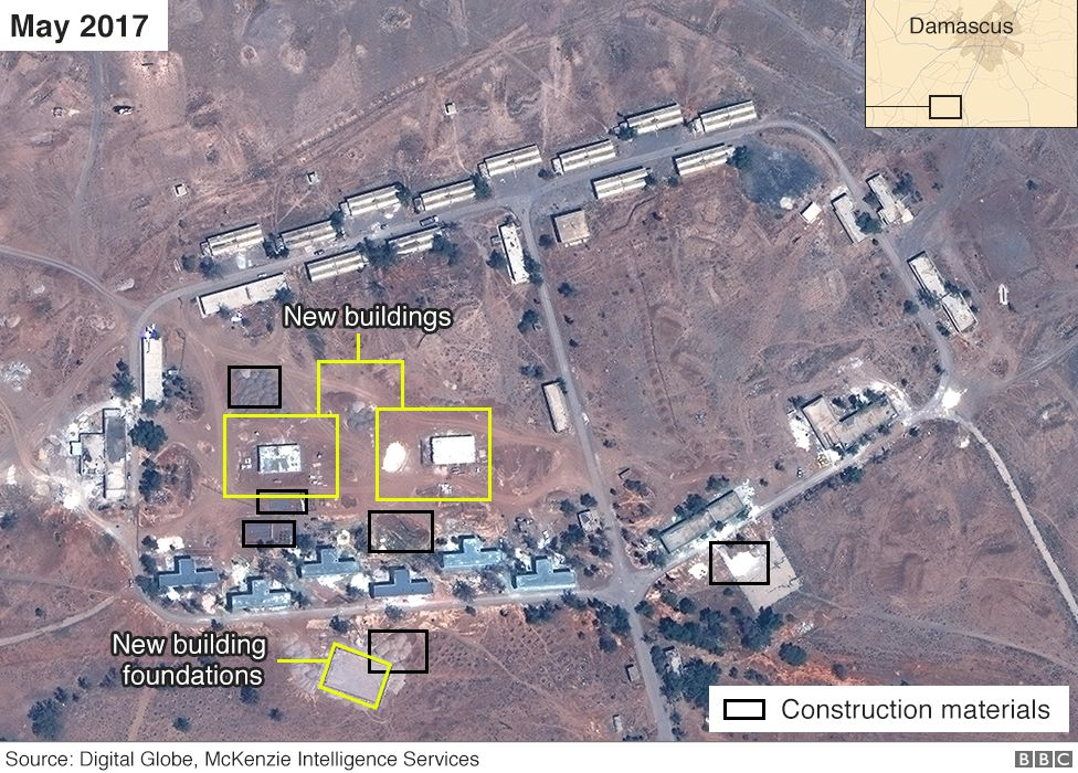Iran Syrian base May 2017