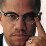 Malcolm X. click to enlarge