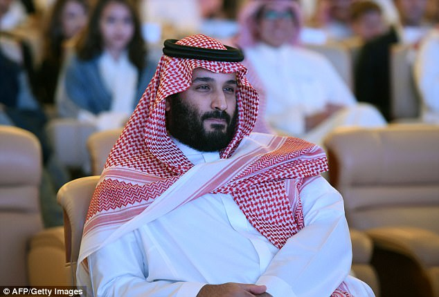 Prince Mohammed bin Salman. Click to enlarge
