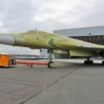 TU-160M2 roll out. Click to enlarge