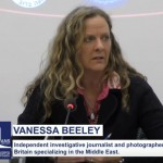 Vanessa Beeley Presents Exposé on White Helmets at Swiss Press Club in Geneva