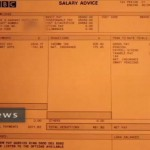Zaghari-Ratcliffe's BBC payslip. Click to enlarge