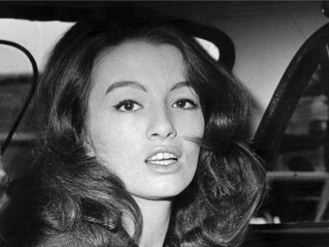 Christine Keeler aged 19. She died Tuesday at age 75. Click to enlarge