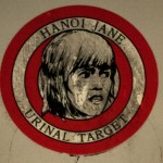 Hanoi Jane urinal target in Cookie's Tavern, 2017. Click to enlarge