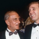 Roy Cohn and Donald Trump. Click to enlarge
