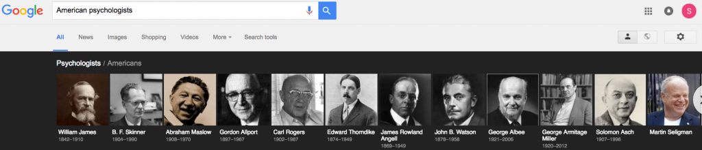 Google's American psychologists. Click to enlarge