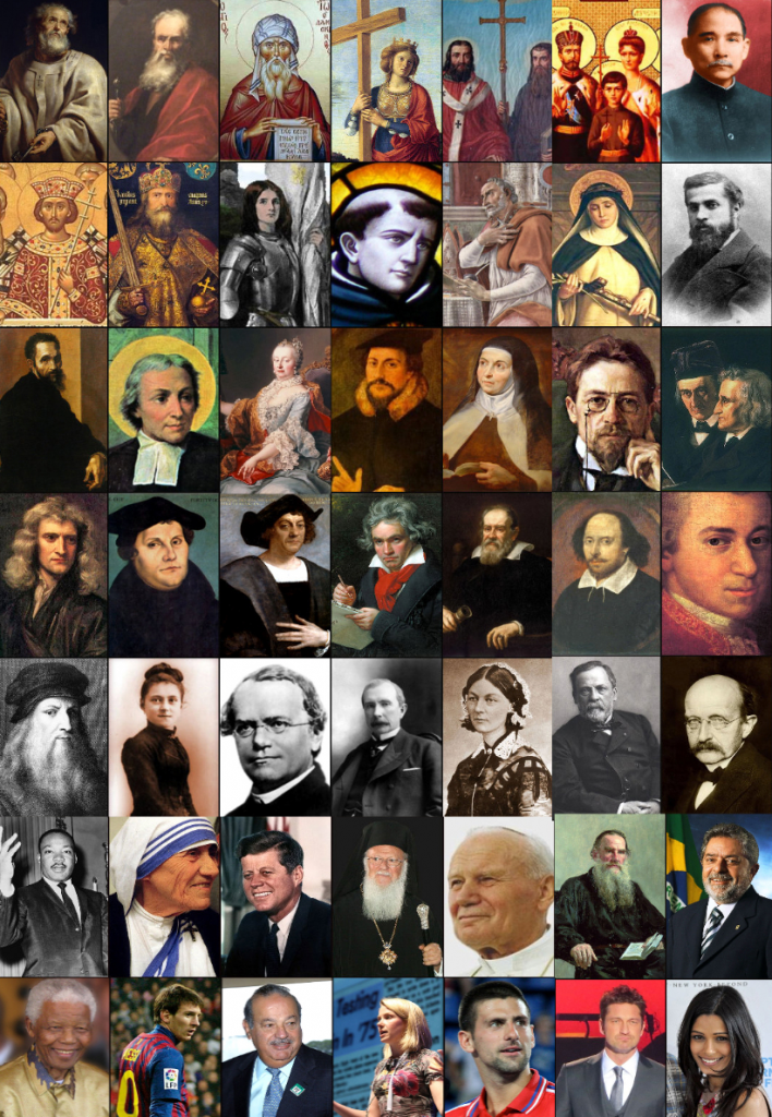 Collage of Christians
