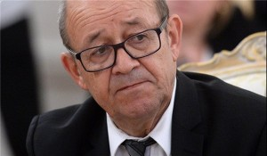 French Foreign Minister Jean Yves Le Drian. Click to enlarge