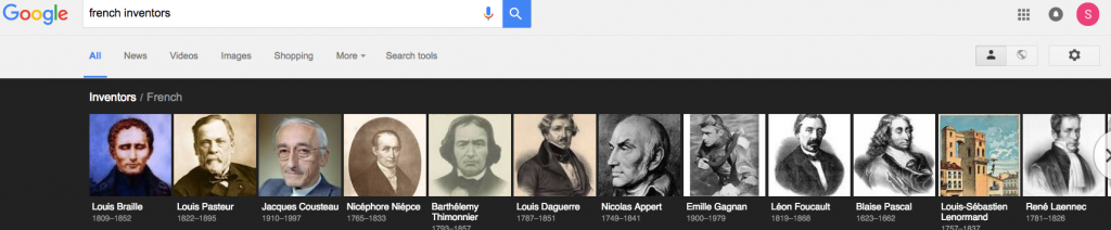 Google's French inventors. Click to enlarge