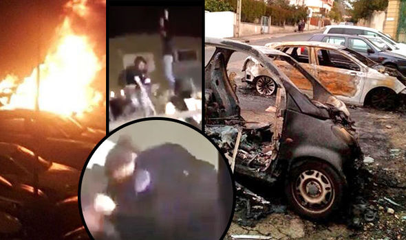 Over 1000 cars torched across France