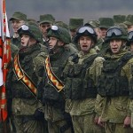 The war games showed off Russia's ability to build up its troops with very little notice in case of conflict, Terras said. Click to enlarge