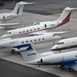 Irony Alert: A Thousand Private Jets Deliver Globalist Elite to Davos for Climate Change Summit