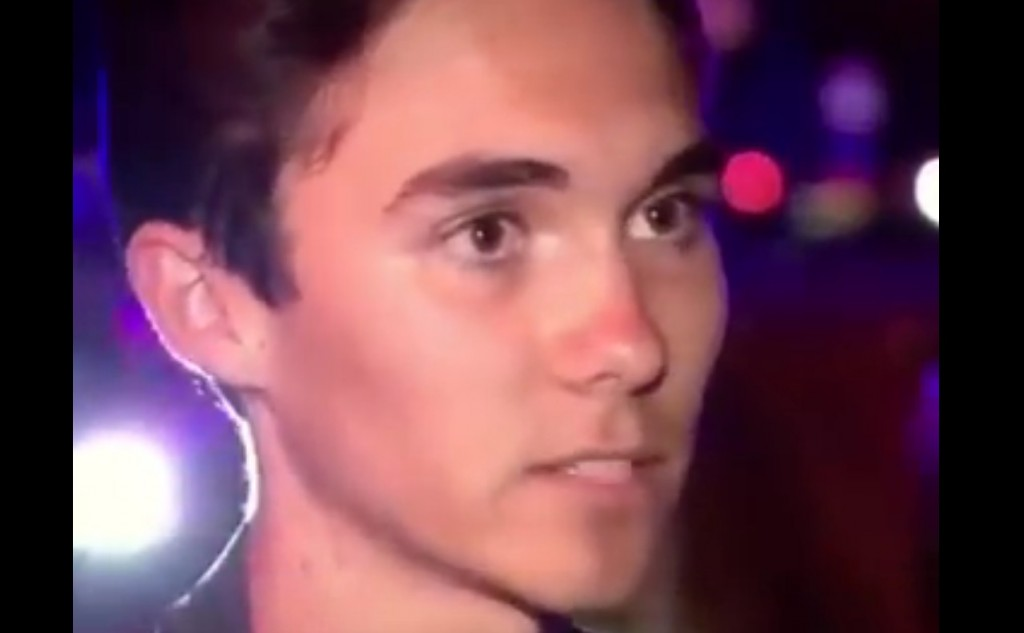 Traitor David Hogg has become a symbol of the staged school shooting psyop in FL. Click to enlarge