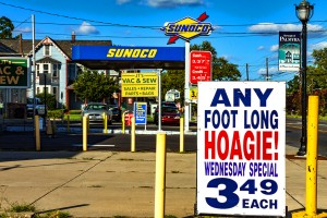 Foot long hoagie