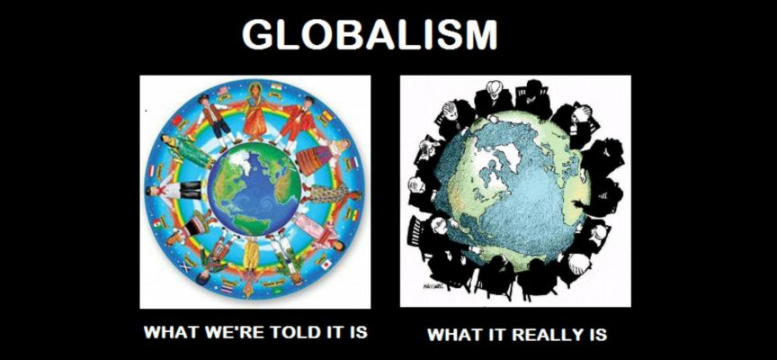 Globalism cartoon