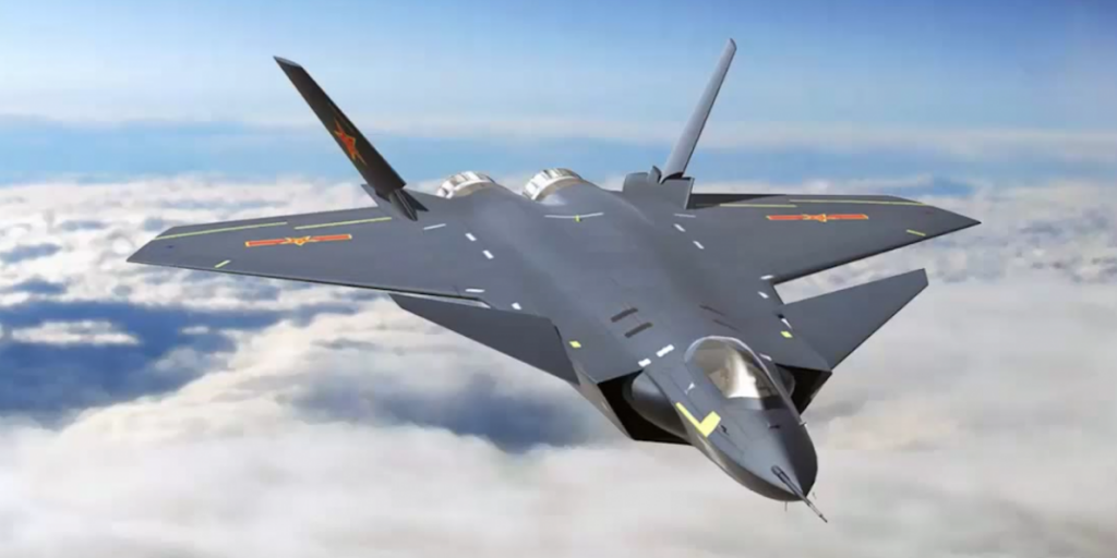 The J-20, China's new stealth fighter. Click to enlarge